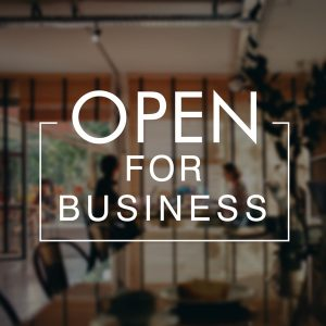 NYGSR OPEN FOR BUSINESS